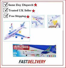 Baby Kinder Elektrisch Spielzeug Mit Licht Musik Flugzeug Airbus A380/747 Bump &
