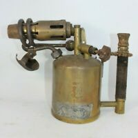 Barthel BBM323 brass blow lamp torch vintage antique small