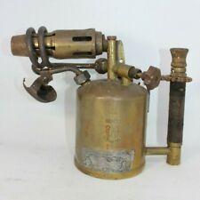 Barthel BBM323 brass blow lamp torch vintage antique small