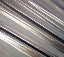 "Spandex Metallic Lycra Silver 4 Way Stretch Fabric 60"" Danceware swimsuit Fabric"