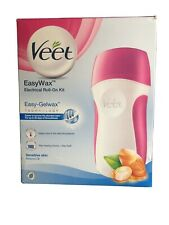 Veet EasyWax Legs & Body Electrical Roll-On Hair Removal Kit 50ml Sensitive Skin