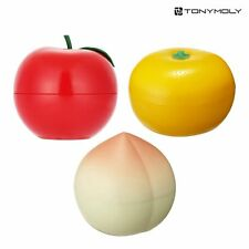 [1+1+1] Tonymoly Fruit Hand Cream Red Apple + Tangerine + Peach SET 3Pcs