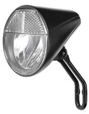FUXON LED SCHEINWERFER Fahrradlampe Nabendynamo mit Kabel/Schalter/Halter