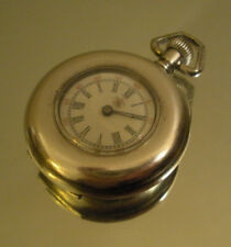 Vintage Antique American Waltham Watch Co Coin Silver Railroad Pocket Watch 33.5