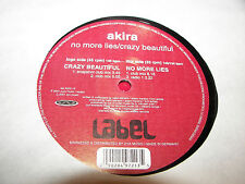 "AKIRA NO MORE LIES / CRAZY BEAUTIFUL 12"" Single NM Label Test Pressing Germany"