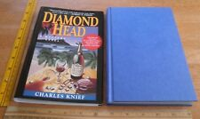 Diamond Head Charles Knief Mystery 1st edition signed hardcover book