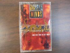 """NEW SEALED """"Simple Minds"""" Good News From The Next World  Cassette Tape (G)"""