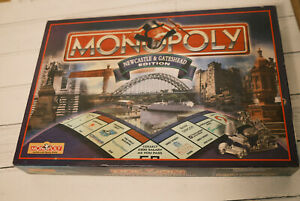 MONOPOLY NEWCASTLE AND GATESHEAD EDITION, COMPLETE