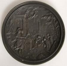 Museumpiece Antique early 17th. Century Renaissance very fine Cast Lead plaque