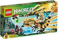 GOLDEN DRAGON NINJAGO MASTER SPINJITZU Ninja 70503 NEW* in Box Final Battle