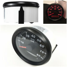 Waterproof Marine Tachometer Gauge Hour Meter 0-8000 RPM 85mm Install Diameter