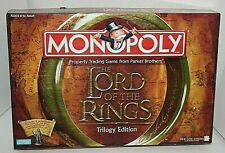 Monopoly Lord of the Rings Trilogy Edition Collectible Tokens Gold Toned Ring