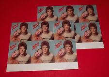 org VINTAGE 1973 DAVID BOWIE PINUPS pin-ups 2 sheets RCA  PROMO STICKER (12)