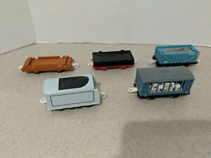 Lot Of 5 Thomas & Friends Trackmaster Train  Cars, Mattel, Hit