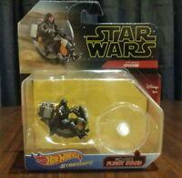 Hot Wheels Star Wars Starships Darth Maul's Speeder Die-cast Vehicle New Sealed