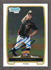 2012 BOWMAN CHROME BCP 70  Luis Heredia  PIRATES  SIGNED AUTOGRAPH AUTO COA