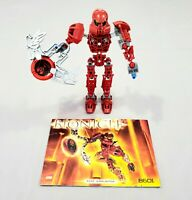 Lego Bionicle Toa Metru Vakama 8601 Set Complete with Manual Instructions