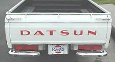 """New 1965-1979 520 521 620 Datsun Truck Rear Tailgate 3"""" Raised Letter Decals"""