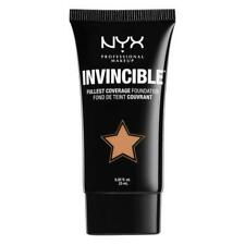2 X NYX 25ml Invincible Foundation Inf04 Light -