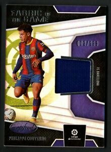 Philippe Coutinho 2020-21 Chronicles Certified Fabric Of The Game Jersey 2/299