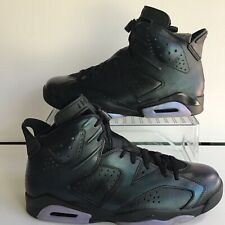 "ba19f04548e64e Nike Air Jordan 6 Retro AS ""Chameleon""Black Black-White Mns."