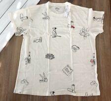 J Crew Women's Basic B T Shirt - M - Ivory - NWT