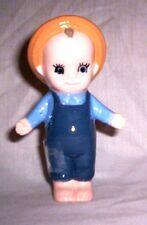 Doll / People #612  89.116.1 Ceramic Cupid Boy Doll Pie Bird