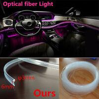 Car LED Interior Ambient Light Decorative lamp Fiber optic interior lights pink