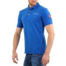 Camicie casual e maglie da uomo blu elasticizzato