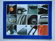 Prospekt / brochure Citroen ID 19, 3.1968, 20 Seiten, Hochglanz