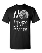 No Lives Matter Jason Voorhees Machete Halloween Friday the 13th T-Shirt 1161