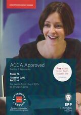 ACCA Paper F6 Tax (UK FA 2015) REVISION Text 1st Sept 2016 to 31 Mar 17