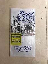 Royal Tunbridge Wells Town and Country Town Map and Street Index with Area Map