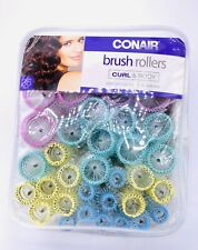 Conair Brush Rollers Curl and Body Set Of 36 with pins New in package  #61146