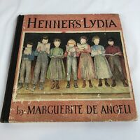Henner's Lydia Marguerite De Angeli 1936 1st Edition Conestoga Valley