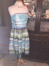 Donna Morgan Lined Chiffon Dress SZ 16 WATERFALL PARTY EVENING COCKTAIL