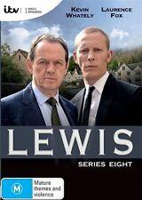Lewis Series Season 8 Eight DVD NEW Region 4