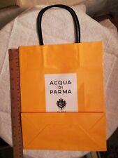 """ACQUA DI PARMA"" BRILLIANT YELLOW EMBOSSED GIFT BAG"