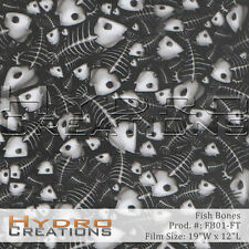 HYDROGRAPHIC FILM FOR HYDRO DIPPING WATER TRANSFER FILM FISH BONES - PER FOOT
