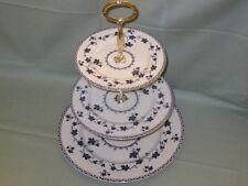Royal Doulton Yorktown China 3-Tier Hostess Cake Plate Stand  TC.1013