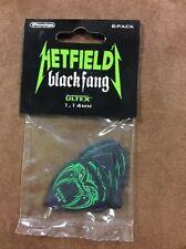 METALLICA Guitar Picks 6 Pack Hetfield 1,14 OFFICIAL MERCHANDISE