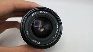 Tokina EL 28mm f2.8 PK Pentax K Mount Lens For SLR/Mirrorless Cameras