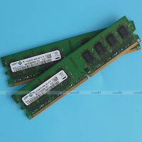 Samsung 4GB 2x2GO PC2-6400 DDR2 800Mhz 800 240pin Desktop Memory Low Density RAM