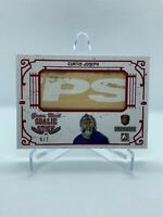 2017 Leaf ITG GAME USED GOALIE Stick CURTIS JOSEPH 6/7! - Toronto Maple Leafs