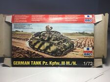 Esci 1/72 German Tank Pz. Kpfw. III M./N.