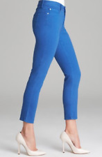 NYDJ Not Your Daughter Jeans Alisha Fitted Ankle Carribean blue Sz 6 PETITE