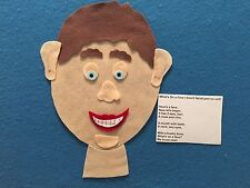 What's On A Face Body Theme Felt Flannel Board Story Teachers Resources