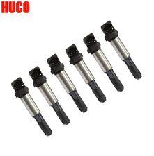 Set of 6 BMW 525i 530i 550i 650i 745Li Mini Cooper R56 Direct Ignition Coil Huco