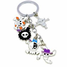 Fashion One Piece Whitebeard Pendant Keychain Cosplay Bag Ornament Charm Keyring