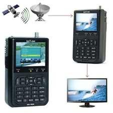 """Satlink WS-6906 HD DVB-S Digital Satellite Signal Finder SAT Meter 3.5"""" LCD"""